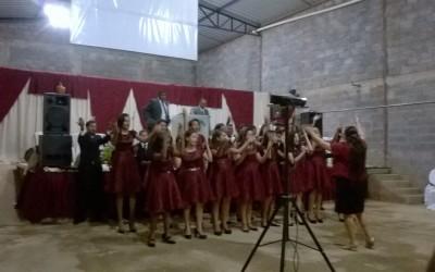 Fotos do culto realizado no dia 20 de dezembro, na Igreja Jeová Tsidkenu, em Montes Claros – MG