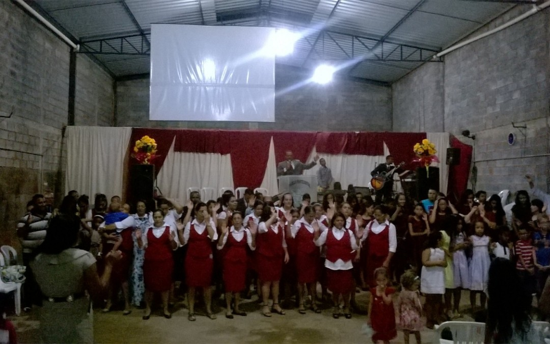 Fotos do evento de aniversário de 7 anos da Igreja Jeová Tsidkenu, de Montes Claros – MG, realizada no dia 31/01/2016